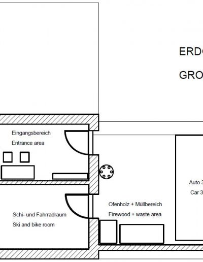 Erdgeschoss - Ground floor